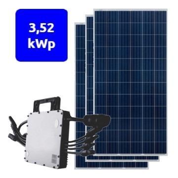 orçamento de gerador solar fotovoltaico em promoção 3.52kwp