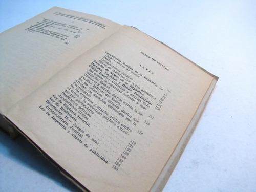 orden publico. ministerio del interior. chile 1942