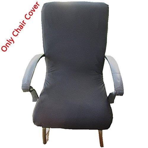 ordenador de loghot spandex tejido elástico silla giratoria