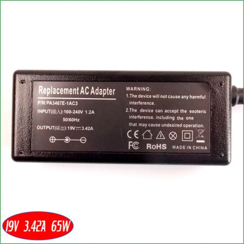 ordenador portátil de pa3917u-1aca ac adaptador cargador pow