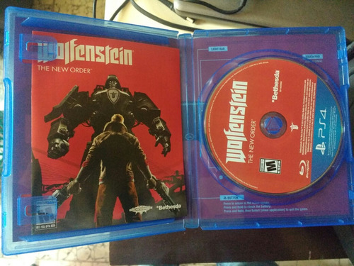 order ps4 the wolfenstein the new