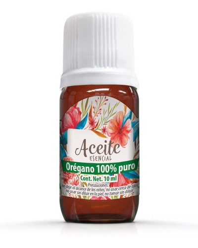 oregano 10 ml, aceite esencial 100% puro 100% natural