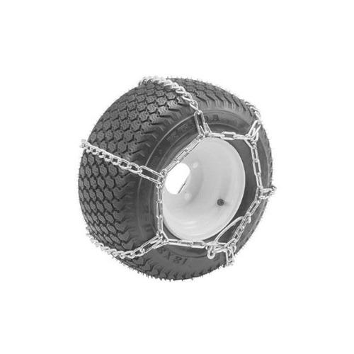 oregon (2 paquetes) 67-024 atv 25x1300-9 cadenas de nieve pa