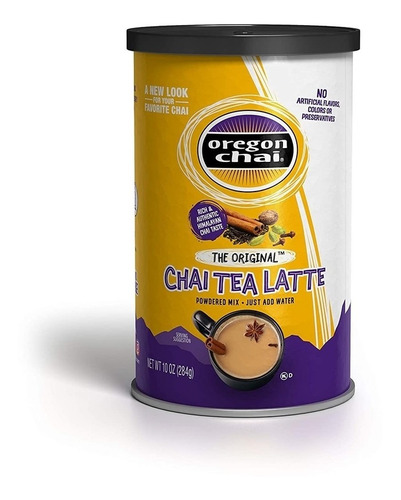 oregon chai original chai tea latte powdered mix