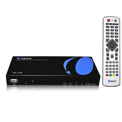 orei xd-1190 pal convertidor hdmi / rca a nts + envio gratis