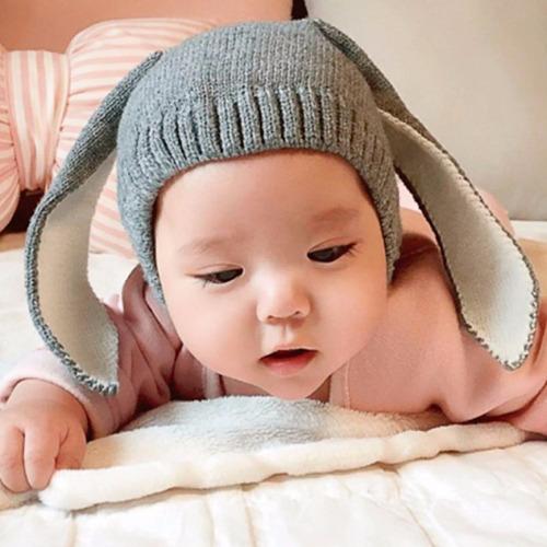 orejas de conejo niñas niños bebés gorro capucha