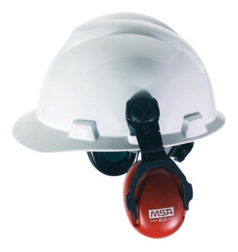 orejeras / sordinas msa xls para casco