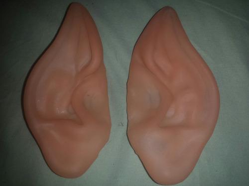 orelhas de elfo cosplay duende - grandes ( frete r$16,00 )