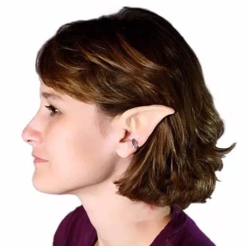 orelhas elfo cosplay duende festa fantasia ( frete 12 reais)
