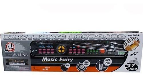 organeta piano juguete 22 canciones infantil 37 teclas mq804