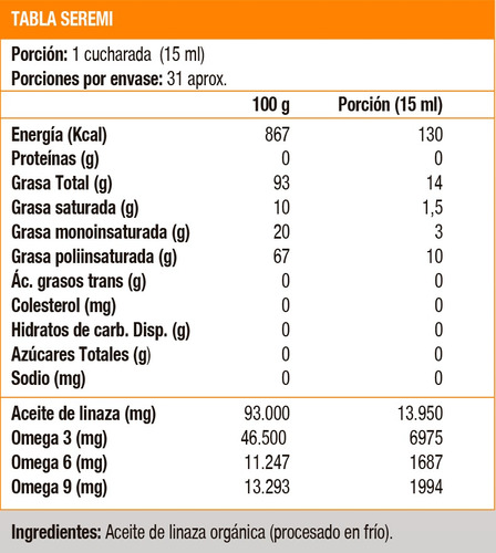 organic flaxseed oil-16 oz