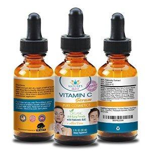 orgánico suero c vitamina para la cara - 100% puro ácido hia
