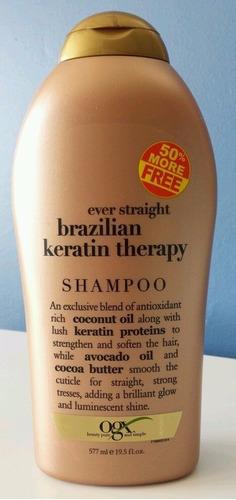organix brazilian keratin therapy shampoo acondicionador ve!