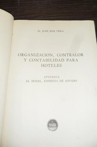 organizacion, contralor y contabilidad para hoteles