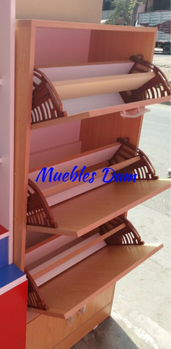 organización de zapatos en melamina ( ( nuevo )