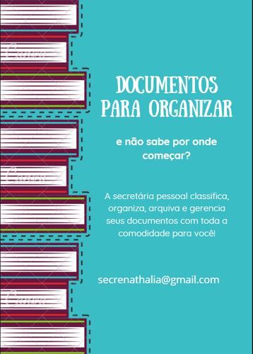 organização de documentos; nuvem; curadoria