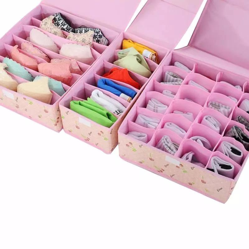 Organizador 3 en 1 de ropa interior brasier medias calzon s 49 99 en mercado libre - Organizador de ropa interior ...