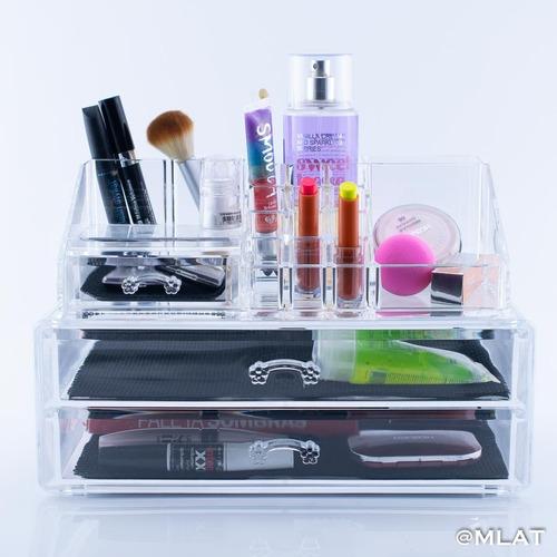 organizador acrílico para cosméticos y maquillaje  81258150