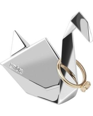 organizador anillo cisne nickel origami - umbra