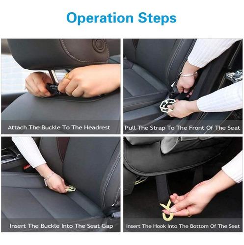 organizador auto respaldo de asiento multifunción / 224010