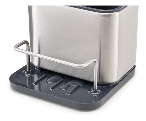 organizador bacha joseph joseph acero cocina esponja cepillo