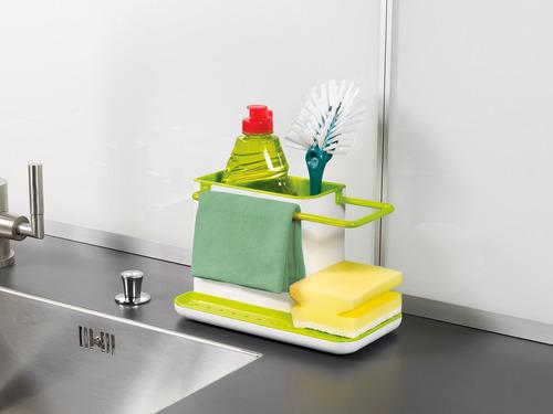 organizador bacha joseph joseph esponja cepillo detergente