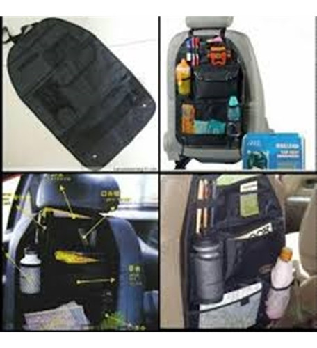 organizador banco para carro porta treco brinquedos agua