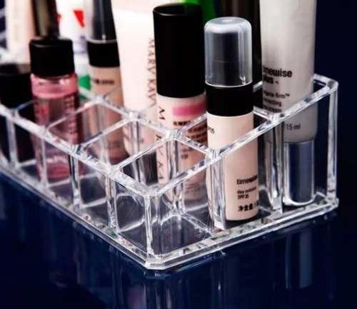 organizador batons cosméticos acrílico 24 divisorias - promo