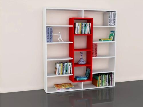 organizador - biblioteca - cubos - divisor de ambiente