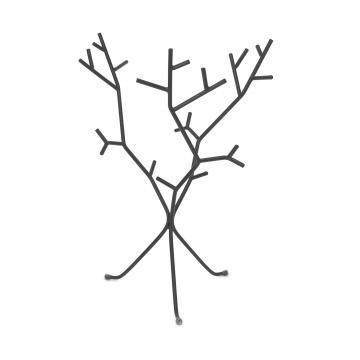 organizador bijou negro marca umbra - modelo twigsy