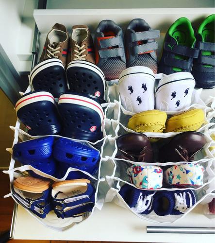 organizador biquínis cintos lenços sapatos de bebê colmeia
