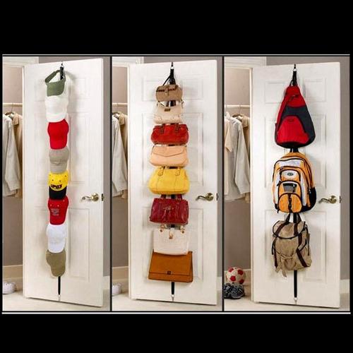 organizador bolsos gorras carteras etc de puerta colgante