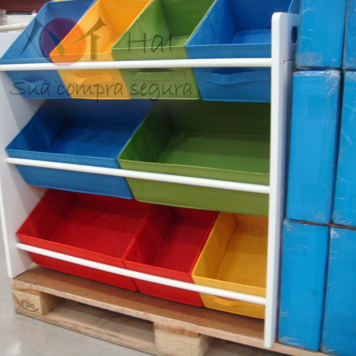 Armario Tok Stok ~ Organizador Caixa Bancada Gavetas Armario Infantil Brinquedo R$ 328,00 em Mercado Livre