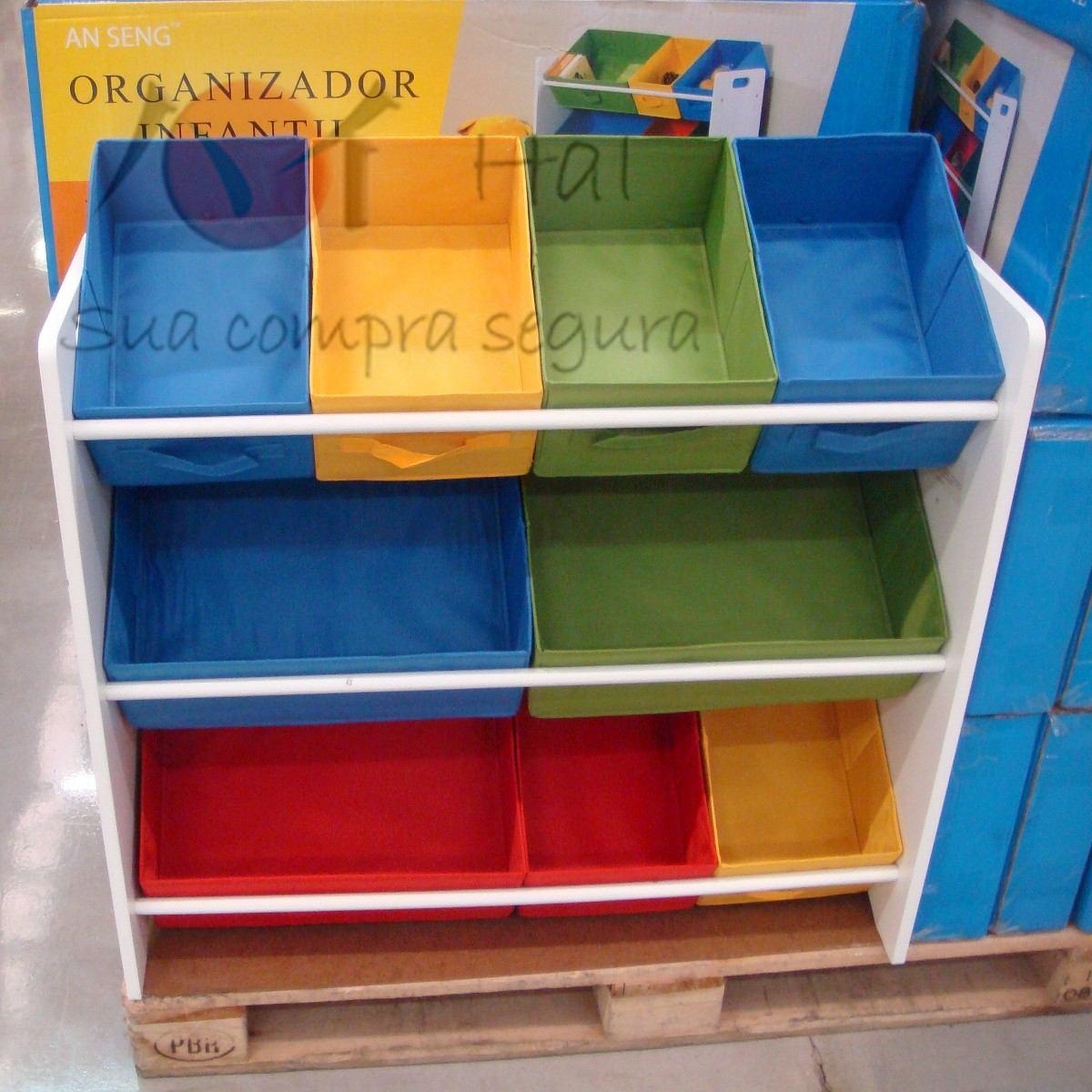 Organizador Caixa Bancada Gavetas Armario Infantil Brinquedo R$ 328,00 em Mercado Livre