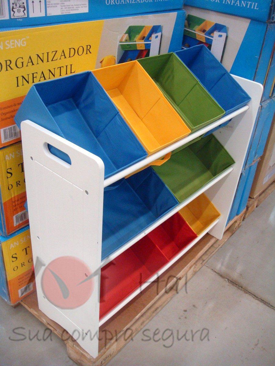 Armario Organizador De Brinquedos De Madeira ~ Organizador Caixa Bancada Gavetas Armario Infantil Brinquedo R$ 328,00 em Mercado Livre