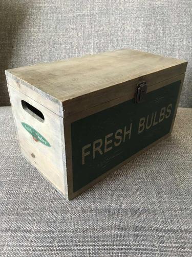 organizador caja de madera para cocina / garage / patio.