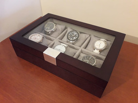73f277ffb6c4 Caja Porta Relojes De Madera - Joyas y Relojes en Mercado Libre Argentina