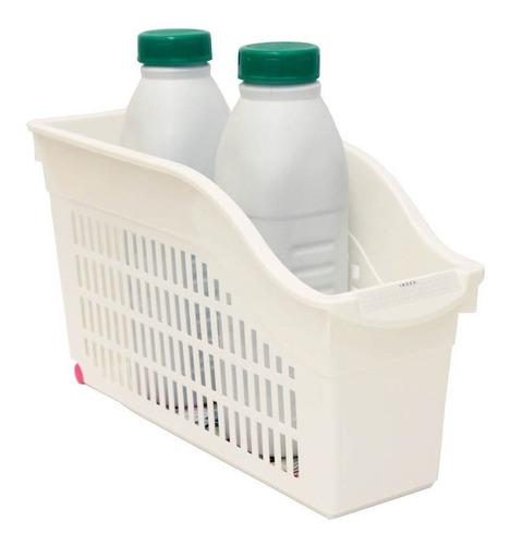organizador canasta gavetero plástico ruedas alto botellas