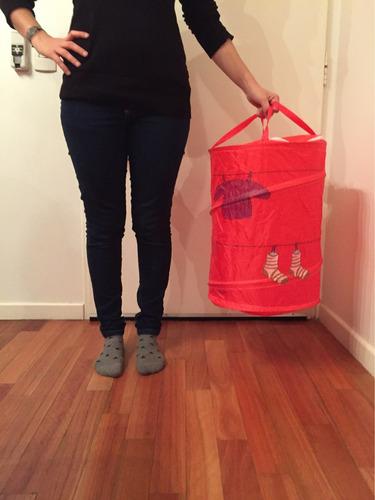 organizador canasto para ropa