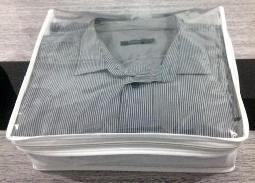 organizador capa porta roupas, camisas, calças... 5 pçs