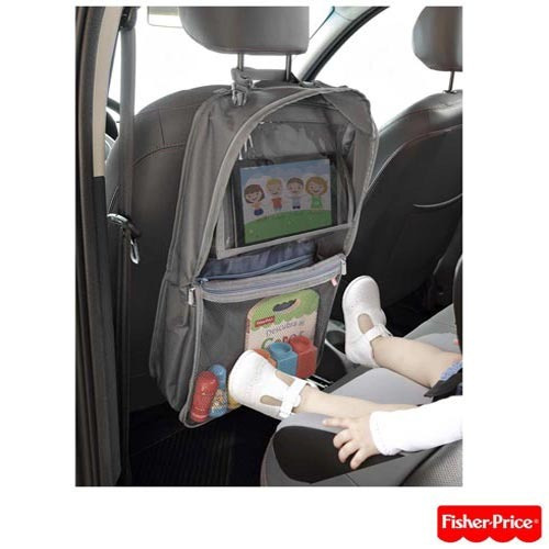 organizador carro compartimento tablet bb318 fisher price