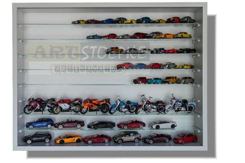 organizador  classicos nacionais 1:43 - 54 carros - cn02b