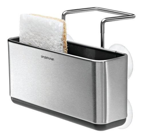 organizador cocina base esponja lavabo acero inoxidable