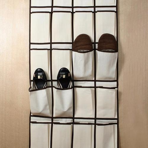 organizador colgante para zapatos zapatero puerta y placard