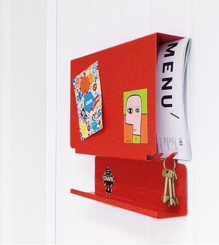 organizador correspondencia, porta llaves pizarra magnética