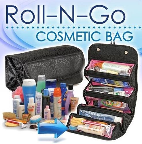 organizador cosmetiquera viaje bolso bag roll-n-go