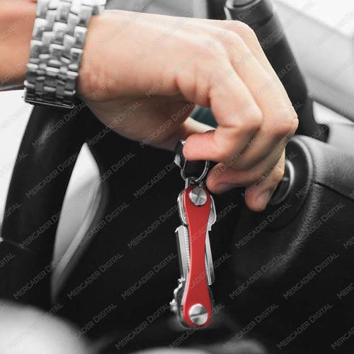 organizador de 5 llaves llavero tipo navaja porta smart key