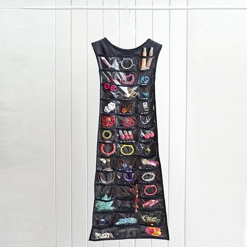 organizador de accesorios vestido largo, reversible packx2 u
