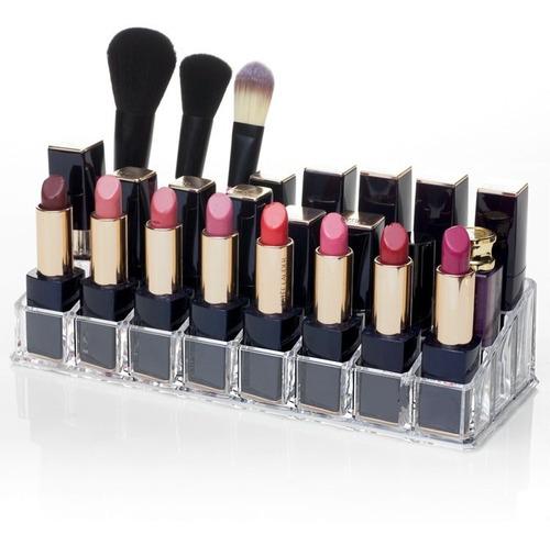 organizador de acrílico para cosméticos y maquillaje   .