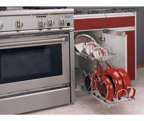 organizador de alacena cocina rev-a-shelf